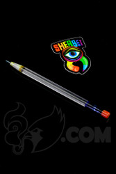 Sherbet Glass - Glass Pencil Dabber UV Lucy with Blue Tip