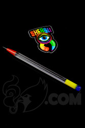 Sherbet Glass - Glass Pencil Dabber UV Lucy with Multi-color Accents