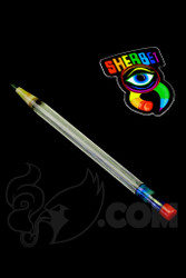 Sherbet Glass - Glass Pencil Dabber UV Nova with Sparkle Green Tip