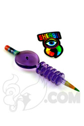 Sherbet Glass x Brother Bud - CFL Pencil Carbcap Dabber