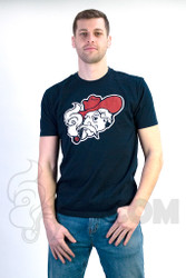 Coughing Cardinal - Coughing Colonels Unisex Navy Tee