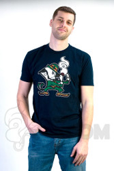 Coughing Cardinal - Irie Irish Unisex Navy Tee
