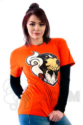 Coughing Cardinal - Smoky Smokey Unisex Orange Tee