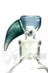 Yig - 14mm 3 Hole Silver Fumed Serum Slide with Stardust Horn
