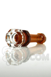 Yig - Amber Faceted Onie