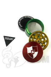 Santa Cruz Shredder - Illadelph 4 Piece Medium Rasta Grinder