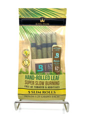 King Palm 5 Slim Rolls w/ Boveda Humidity Pack