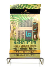 King Palm 5 Mini Rolls w/ Boveda Humidity Pack