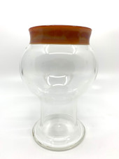 Mark Atech Glass Serendipity Lip Wrapped Pint Cup