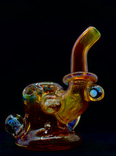 Nicks Glass Purple Passion Mibbed Out Dry Sherlock w/ Opal