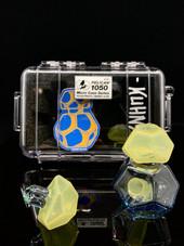 Kuhns Glass Geo Traveler- Pastel Serum and Raindrop
