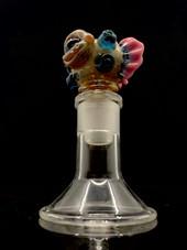Dux Glass - #10 18mm Sculpted Monster Slide