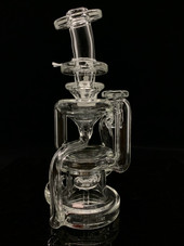 Asian Kevin Glass -  Clear Double Uptake Floating Recycler