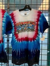 Coughing Cardinal Tye Dye Vacation T-Shirt