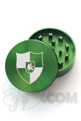 Santa Cruz Shredder - 2 Piece Small Green Illadelph Grinder