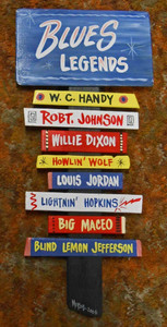 Blues Legends Wall Plaque - WAS $95 - NOW $50