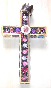 CROSS with Found Objects by George Borum