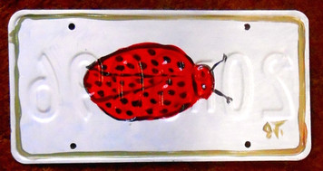 LADYBUG License Place by John Taylor