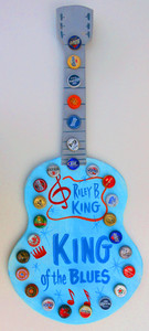 B B KING - King of the Blues by George Borum