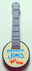 GRANDPA JPNES - HEE HAW STAR BANJO by George Borum