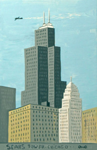 SEARS TOWER - WILLIS TOWER - CHICAGO by Otto  - Was $60-Now$35