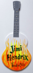 JIMI HENDRIX - VOODOO CHILD GUITAR by George Borum