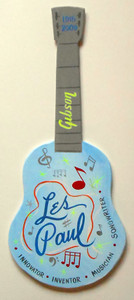LES PAUL - WOOD GIBSON GUITAR by George Borum - Now $30