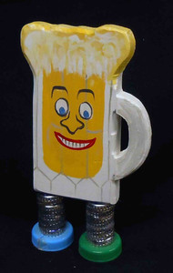 Beer Mug  Bob - Munchkin by George Borum - WAS $20 - NOW $15