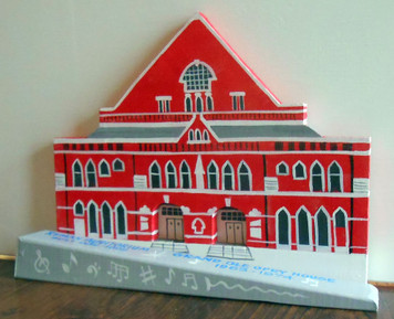 RYMAN AUDITORIUM - GRAND OLE OPRY  - Nashville - 3-D Model by George Borum