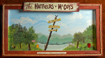 HATFIELDS & McCOYS FEUD - MOONSHINE - WAS $150-NOW $99.