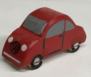 VW VOLKSWAGEN BEATLE CAR - Model by Eddie Armstrong