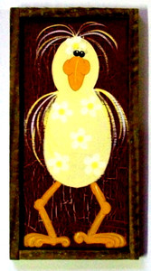 Funky Chicken Painting #609  by Auntie Reba