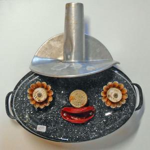 ROASTER PAN HEAD # SM120 by Steve Meadows