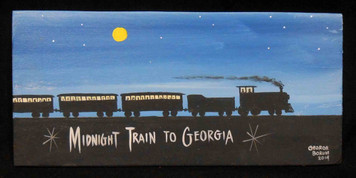 Midnight Train to Georgia Painting by George Borum
