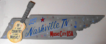 NASHVILLE TENNESSEE - MUSIC CITY SIGN