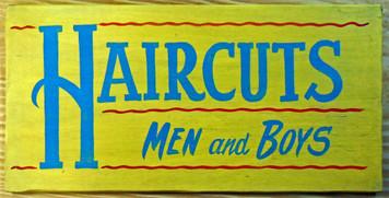HAIRCUTS - Men and Boys