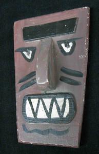 Folk Art 3-D Mask #592   by George Borum