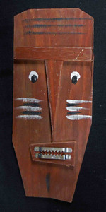 Folk Art 3-D Mask #588    -   by George Borum