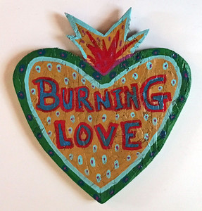 BURNING LOVE CUT-OUT by Anthony Tavis