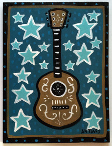 GUITAR PAINTING by Anthony Tavis