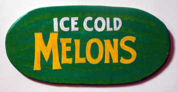 ICE COLD WATERMELON - Wood Cutout - WAS $20 - NOW $10