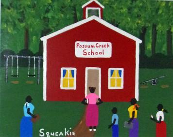 POSSUM CREEK SCHOOL (8) by Squeakie