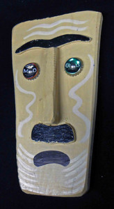 Folk Art 3-D Mask #573  -   by George Borum
