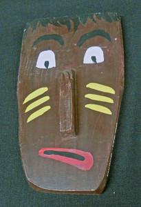 Folk Art 3-D Mask #570  -  by George Borum