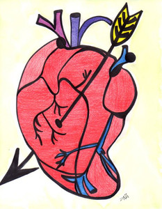 EL CORAZON by Nathania Garcia - WAS $20 - NOW $10