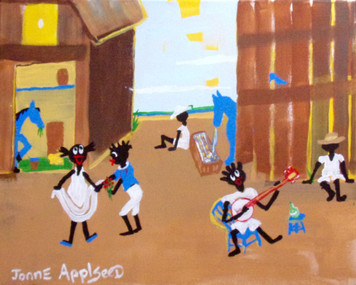 BARN DANCE by Jonne Applseed