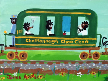 CHATTANOOGA CHOO-CHOO TRAIN By Jonne Applseed