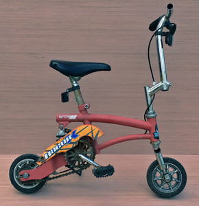 "CLOWN ""RAT-ROD"" BICYCLE - 28"" long - It's Rideable! WAS $95-NOW $75"