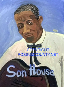 SON HOUSE PORTRAIT by Alan the Portrait Guy