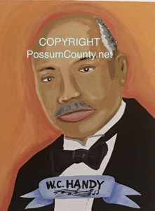 W. C. HANDY Painting by ALAN the Portrait Guy -  - DISCOUNTED TO $25